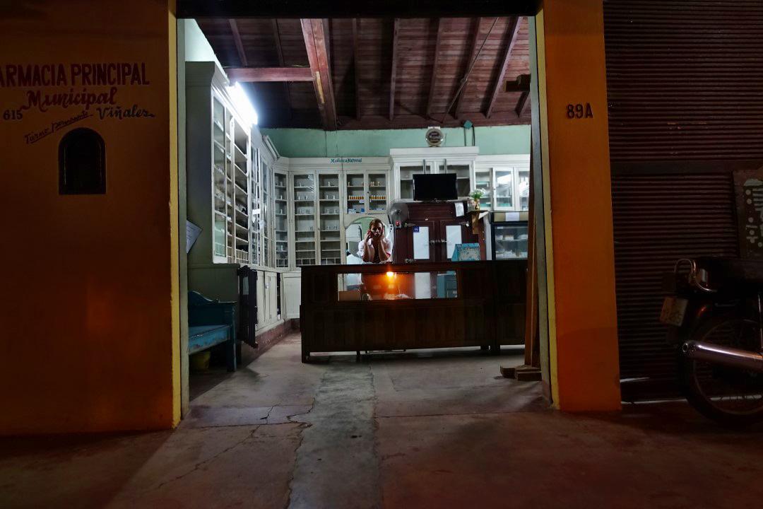 Apotheke in Vinales Kuba
